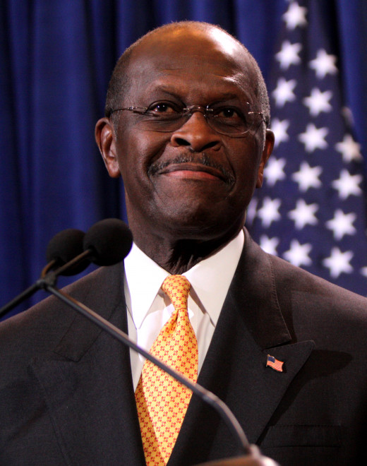 President of Ubeki-beki-beki-beki-stan-stan Herman Cain