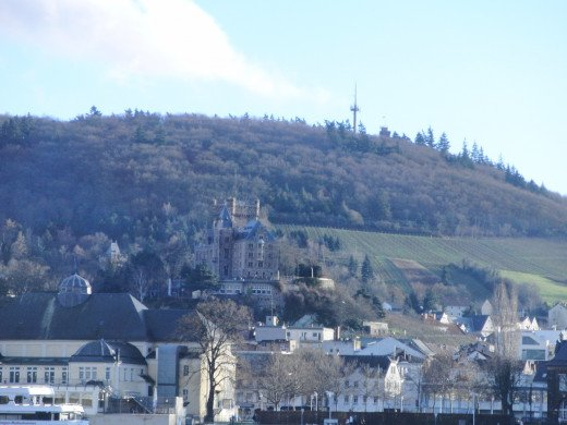 Bingen and the Klopp Castle