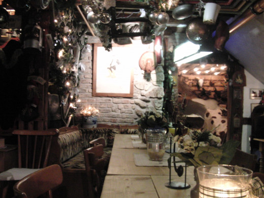 The Gaggianier, beautiful and cozy restaurant in Bingen