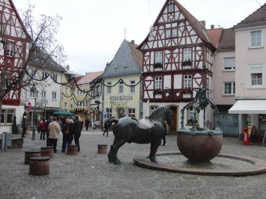 Rossmarkt (Horse Market) in Alzey