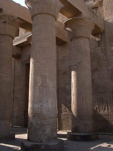 Kom Ombo Columns from upyernoz Source: flickr.com