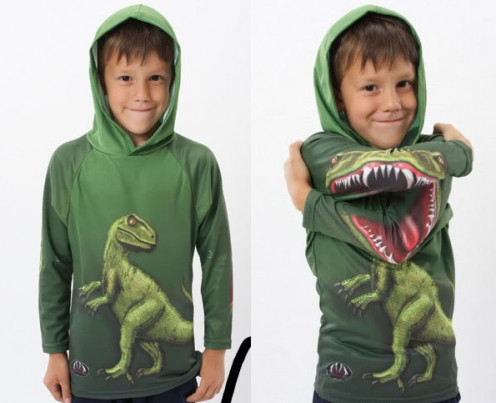 A hoody shirt for kids.