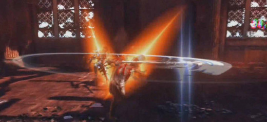 DMC Devil May Cry upgrade weapon skills and then combine them.