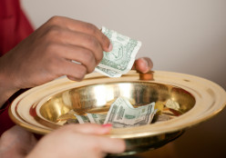 Are church members more apt to tithe or give larger offerings if they know where the money is going?