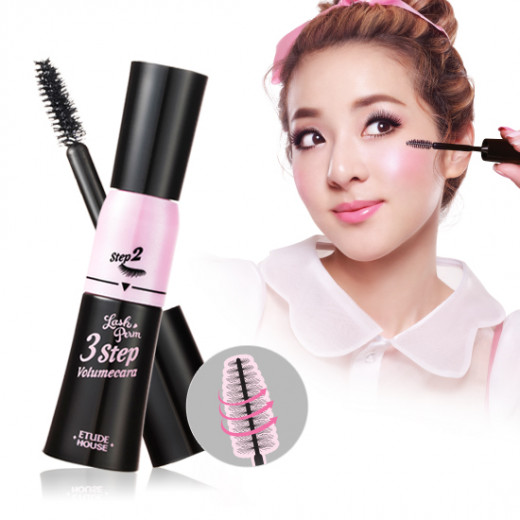 Etude House Lash Perm 3-Step Volumecara advertisement.