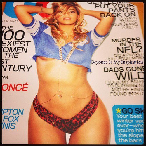 Beyonce rocking the GQ cover