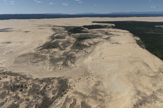 The Great Kobuk Sand Dunes