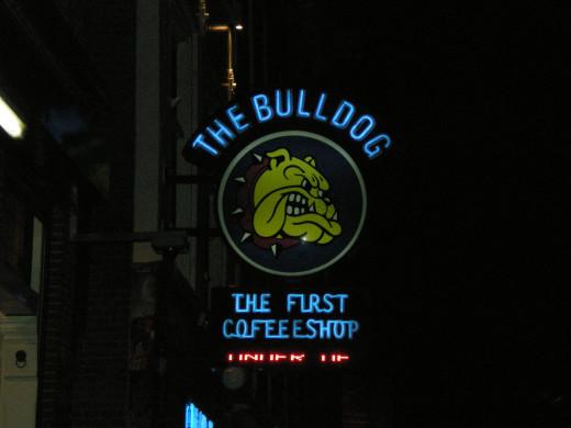 The Bulldog, Amsterdam's 1st Coffeeshop