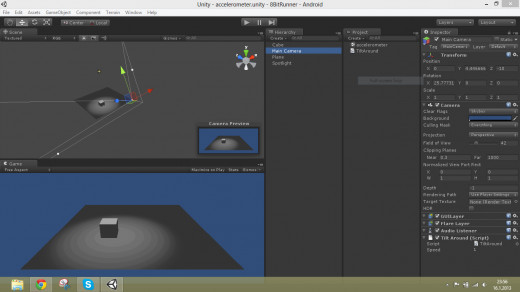 Unity: Game developing software