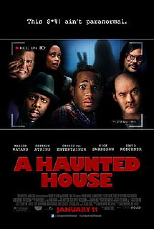 Theatrical poster for A Haunted House (2013)