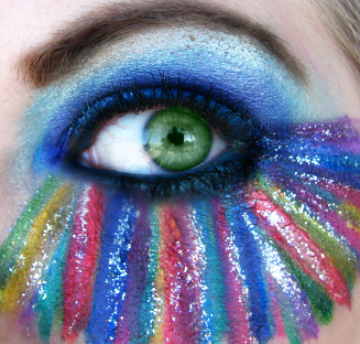 Mardis Gras-Carnival Eyeshadow