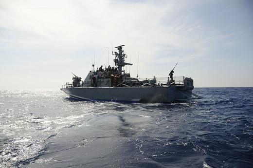 Israeli Navy Ship