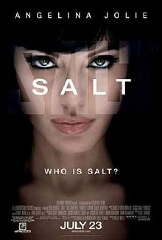 Salt, a film inspired by the Bourne series