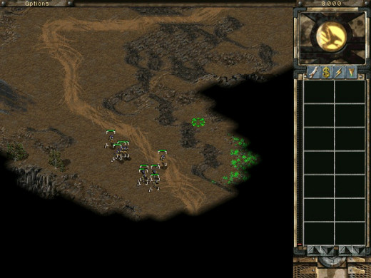 Paths usually lead to enemy bases. How convenient.