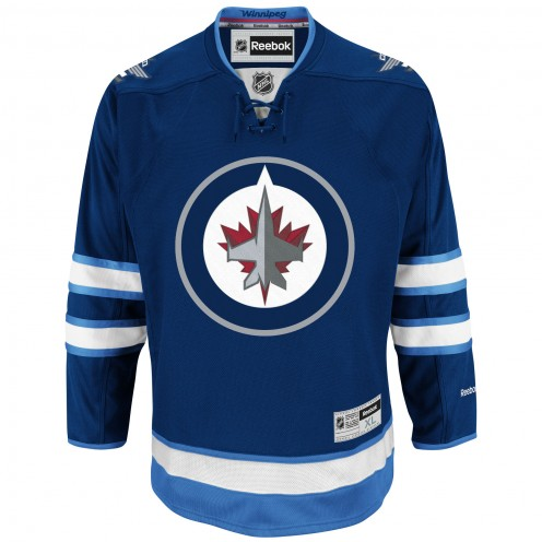 Jets home hockey jersey