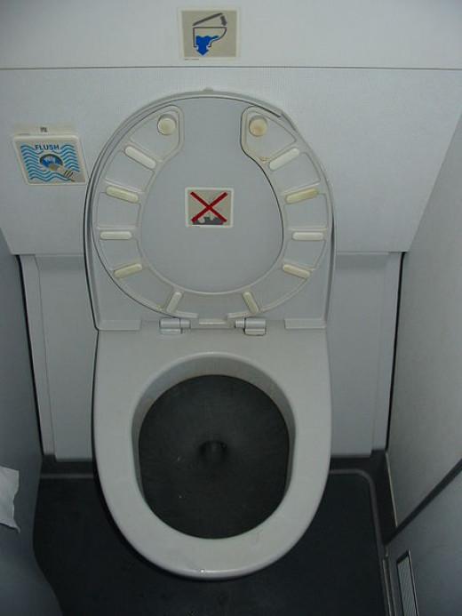 Airbus Toilet