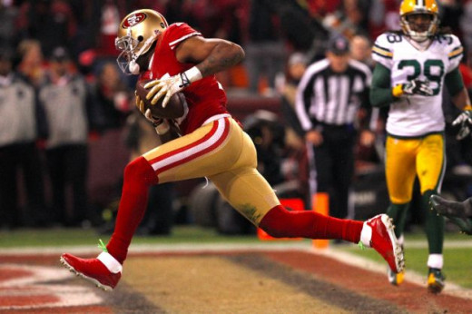 Michael Crabtree gave the Green Bay Packers fits last Saturday Night
