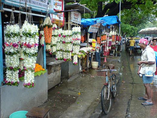 Flowers in Matunga market
