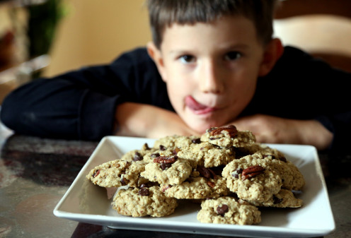 Chocolate chip cookies that will make you smile!