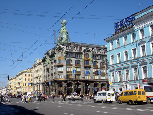 Saint Petersburg is a thriving city with everything you could ever need.