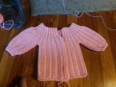 Un- Sewed Sweater
