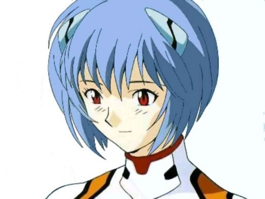 Rei Ayanami from Evangelion