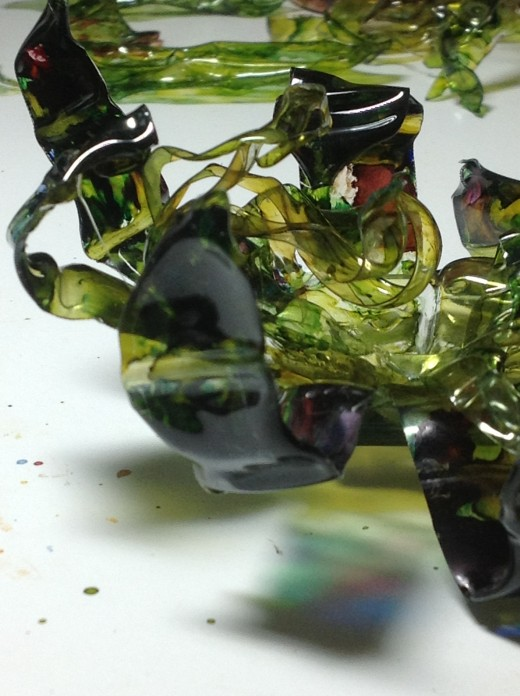 I just love the rich colors that alcohol inks give.