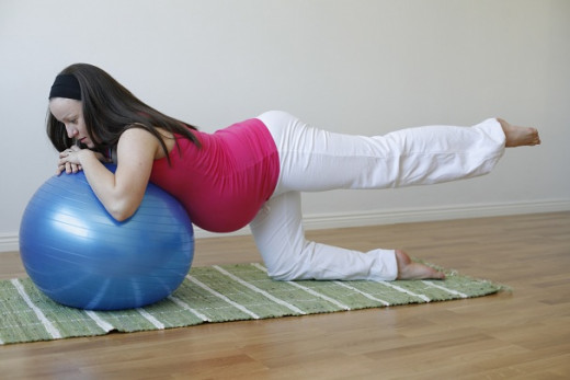 Exercise during pregnancy is said to be a good pain reliever