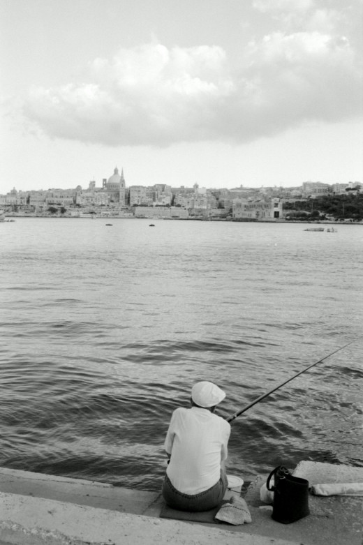Fisherman in Malta
