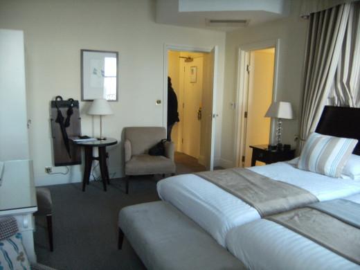 St George's Hotel, Llandudno: Our bedroom Suite.
