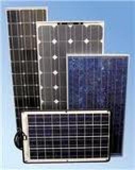 assorted solar panels