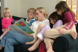Homeschooling is a family affair.