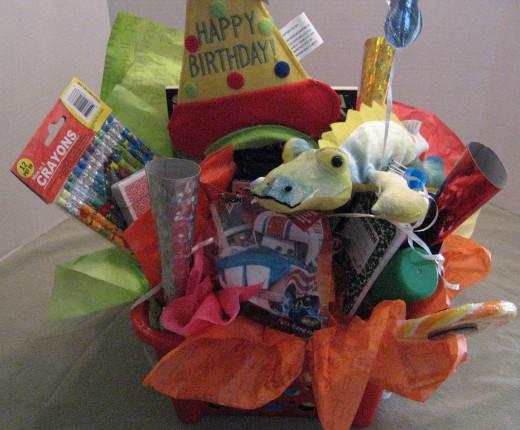 Boy's Birthday Basket