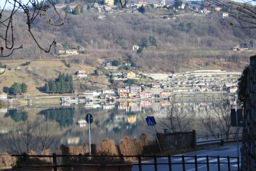 Lake Mirror, Lago d' Orta, Italy