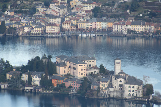Isola San Giulio, Lago d' Orta, Italy