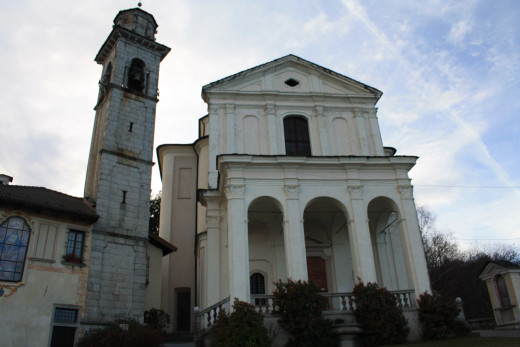The Sunctuary, Madonna del Sasso (Piedmont), Italy