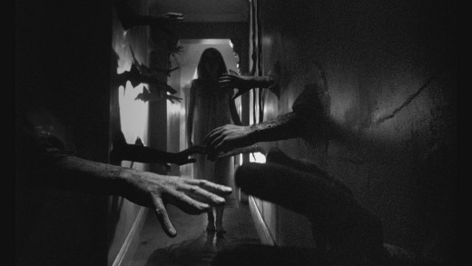 "Catherine Deneuve in ""Repulsion"""
