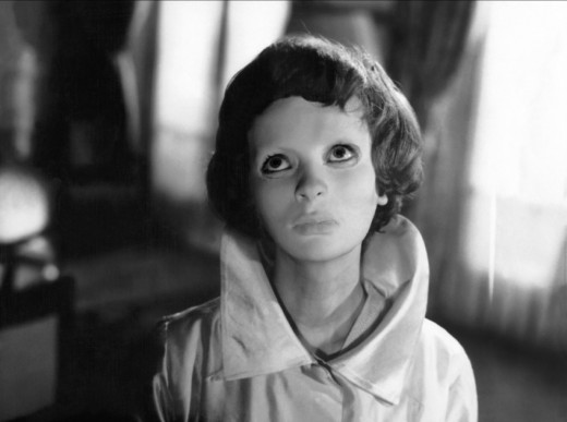 "Edith Scob in ""Eyes Without a Face"""