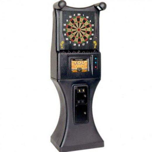 The commercial arcade style Dart Board