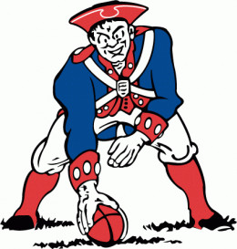 The Original Pat Patriot, the logo from 1961 to 1963.