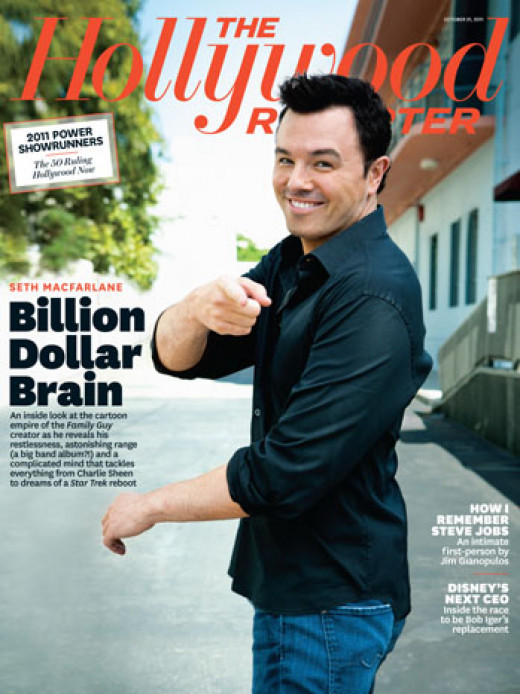 Seth MacFarlane, the billion dollar brain