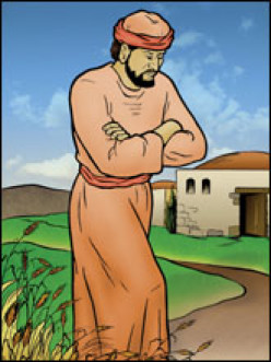 The older brother in the parable of the prodigal son.