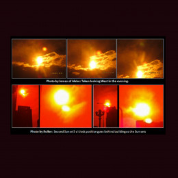 Second Sun sightings are on the rise however they didn't begin until 2003 when Nibiru Planet X entered our solar system.