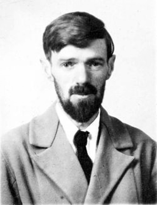 D.H. Lawrence's Passport Photo