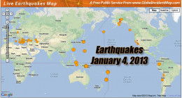 Large earthquakes in the Ring of Fire are on the increase.