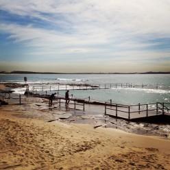 The beautiful Cronulla Beach Baths