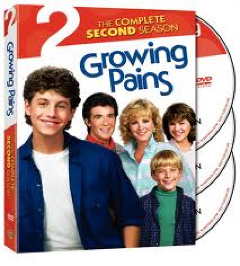 Growing Pains was released on DVD and it starred Kirk Cameron.