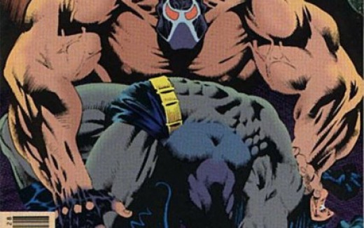 Bane Breaking Batman's Spine.