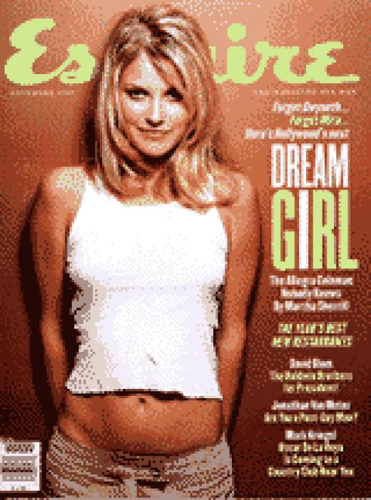 The Allegra Coleman Esquire issue