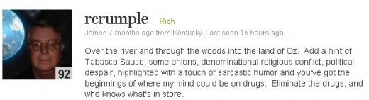 rcrumple or simple Rich (Photo Source: HubPages via Screenshot)